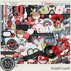Stupid Cupid Digital Scrapbook Kit
