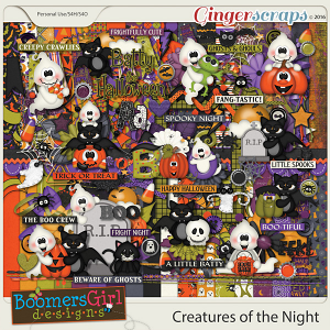 Creatures of the Night by BoomersGirl Designs