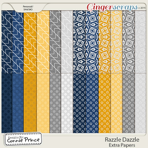 Razzle Dazzle - Extra Papers