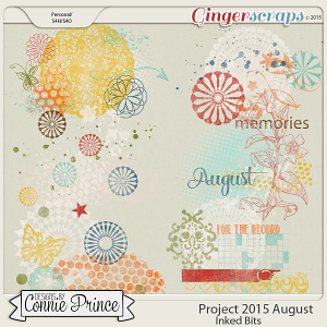 Project 2015 August - Inked Bits