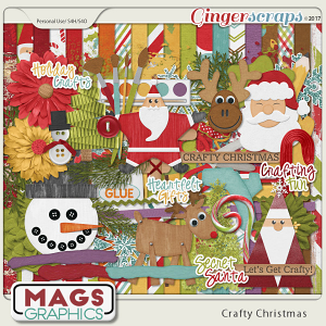 Crafty Christmas KIT by MagsGraphics