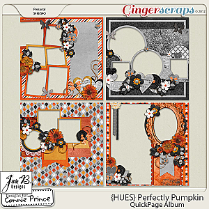 {HUES} Perfectly Pumpkin - QuickPage Album