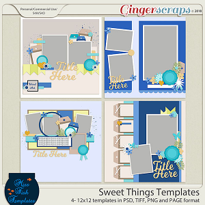 Sweet Things Templates by Miss Fish