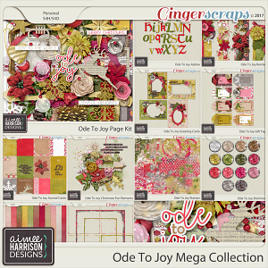 Ode to Joy Mega Collection by Aimee Harrison
