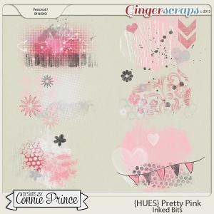 {HUES} Pretty Pink - Inked Bits
