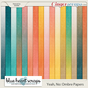 Yeah, No Ombre Papers