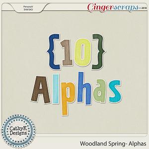 Woodland Spring - Alphas