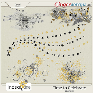 Time to Celebrate Scatterz by Lindsay Jane