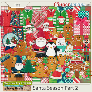 Santa Season Part 2 by Clever Monkey Graphics