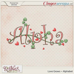 Love Grows Alphabet