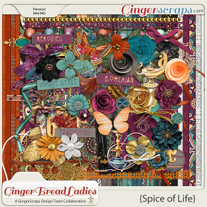 GingerBread Ladies Collab: Spice Of Life