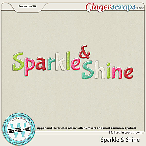 Sparkle &amp; Shine Alpha