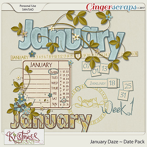 January Daze Dates Pack