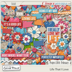 Project 2014 February:  Life That I Love - Kit