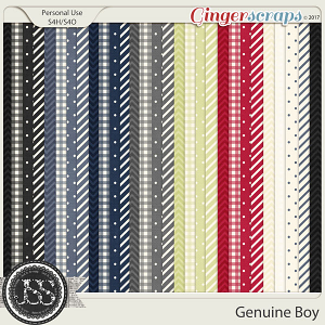 Genuine Boy Pattern Papers