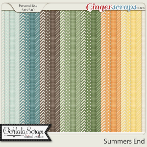 Summers End Pattern Papers