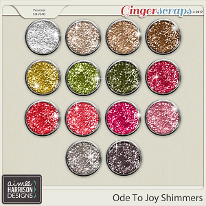 Ode to Joy Shimmers by Aimee Harrison