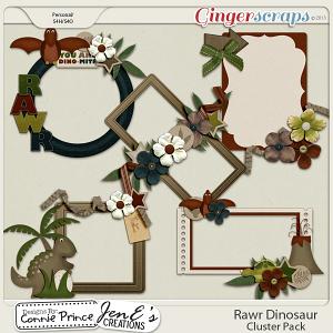 Retiring Soon - Rawr Dinosaur - Cluster Pack