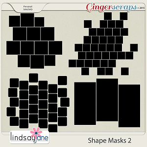Shape Masks 2 by Lindsay Jane