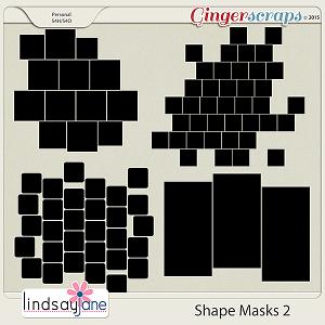 Shape Masks 2 by Lindsay Jane