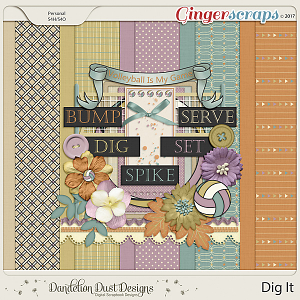 Dig It Digital Scrapbook Kit By Dandelion Dust Designs