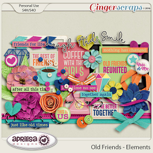 Old Friends - Elements by Aprilisa Designs