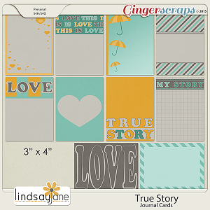 True Story Journal Cards by Lindsay Jane