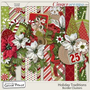Holiday Traditions - Border Clusters