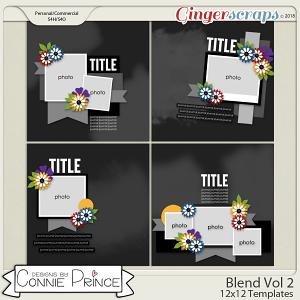 Blend Volume 2 - 12x12 Temps (CU Ok) by Connie Prince