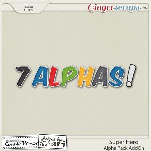 Retiring Soon - Super Hero - Alpha Pack AddOn
