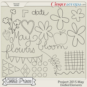 Project 2015 May - Doodled Elements
