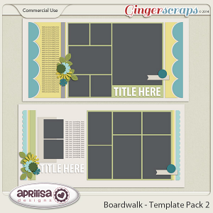 Boardwalk - Template Pack 2