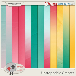 Unstoppable Ombre Papers by Luv Ewe Designs