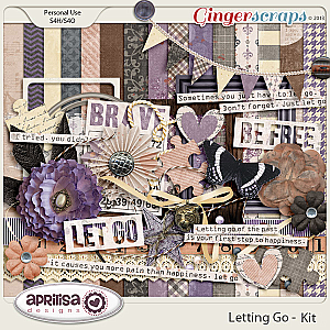 Letting Go Kit by Aprilisa Designs