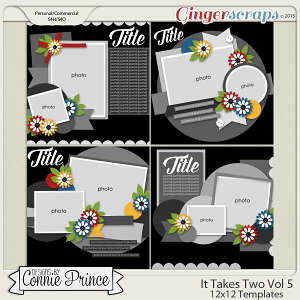 It Takes Two Volume 5 - 12x12 Temps (CU Ok)