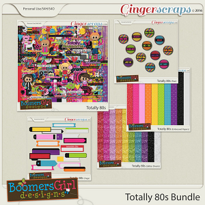 Totally 80s Bundle by BoomersGirl Designs