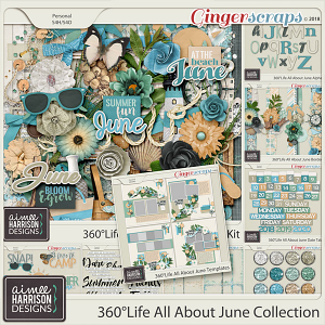 360°Life All About June Collection by Aimee Harrison