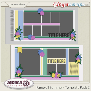 Farewell Summer - Template Pack 2