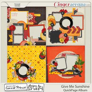Retiring Soon - Give Me Sunshine - QuickPage Album