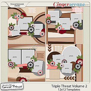 Triple Threat Vol 2 - 12x12 Temps (CU Ok)