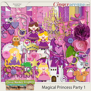 Magical Princess Party 1 by Clever Monkey Graphics