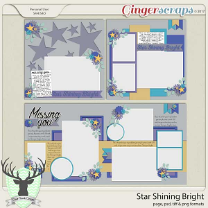 Star Shining Bright by Dear Friends Designs