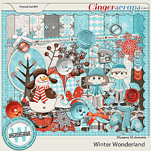 Winter Wonderland kit by Kathy Winters Designs