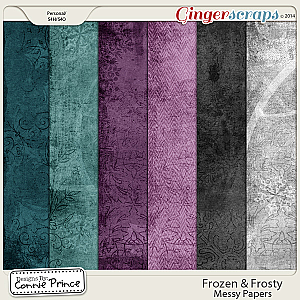 Frozen & Frosty - Messy Paper Pack