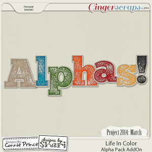 Project 2014 March: Life In Color - Alpha Pack AddOn