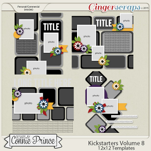 Kickstarters Volume 8 - 12x12 Temps (CU Ok)