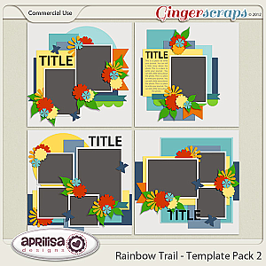 Rainbow Trail - Template Pack 2