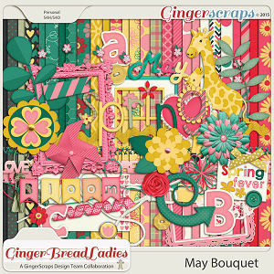 GingerBread Ladies Collab: May Bouquet