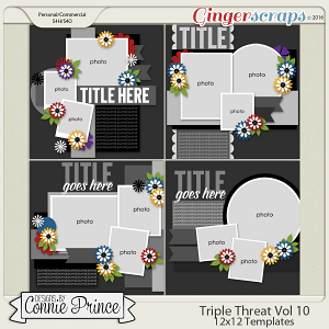 Triple Threat Volume 10 - 12x12 Temps (CU Ok)