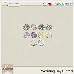 Wedding Day Glitters by JoCee Designs